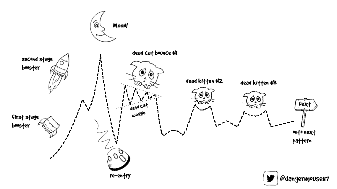3 Dead Cats And A Moon: A Guide to Bitcoin's Price Consolidation