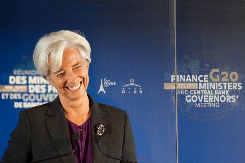 IMF's Lagarde Touts Distributed Ledger as Defense Against Terror